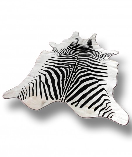 Peau De Vache Zebre Chaix Decoration