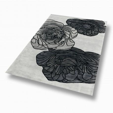 tapis toulemonde bochart adam silver. Black Bedroom Furniture Sets. Home Design Ideas