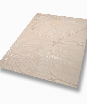 "Tapis ""Lotus"" naturel"