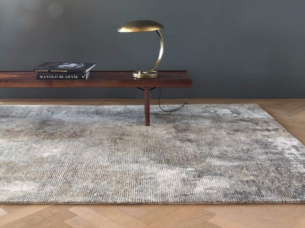 tapis erode gris beige chaix d coration. Black Bedroom Furniture Sets. Home Design Ideas